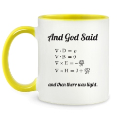And God Said (Maxwell's Equations) and then there was light