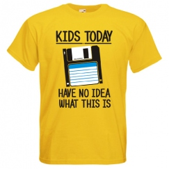 Kids today have no idea...