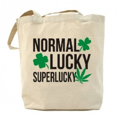 Normal. Lucky. Superlucky.