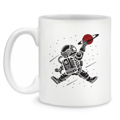 Astronaut basketball