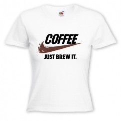 Coffee just brew it.